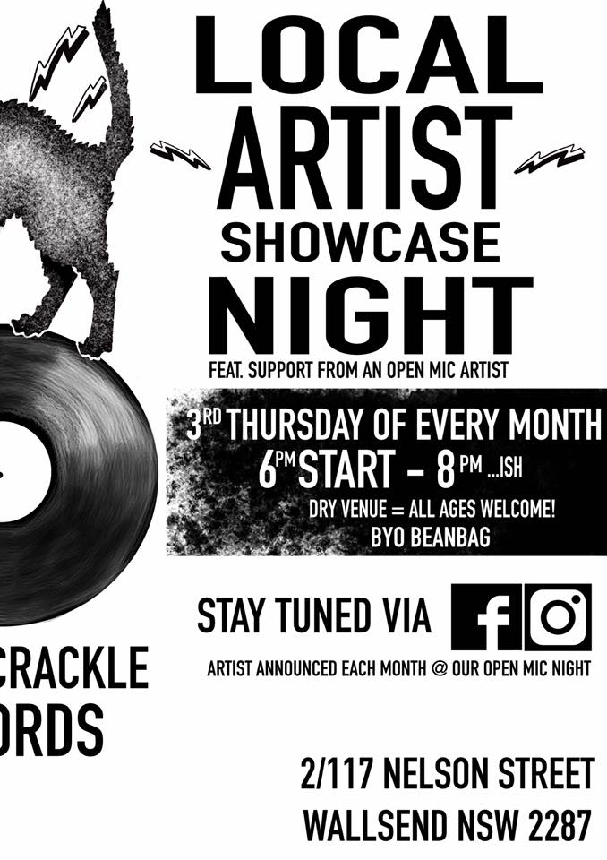 Local Artist Showcase Night -